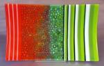 Orange & Green sushi plate (sold)